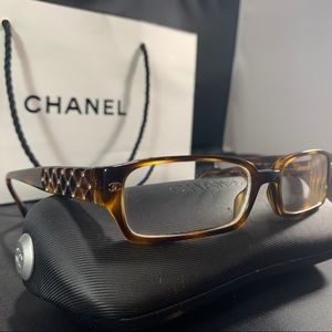 CHANEL Tortoise Shell Prescription/Reading Glasses
